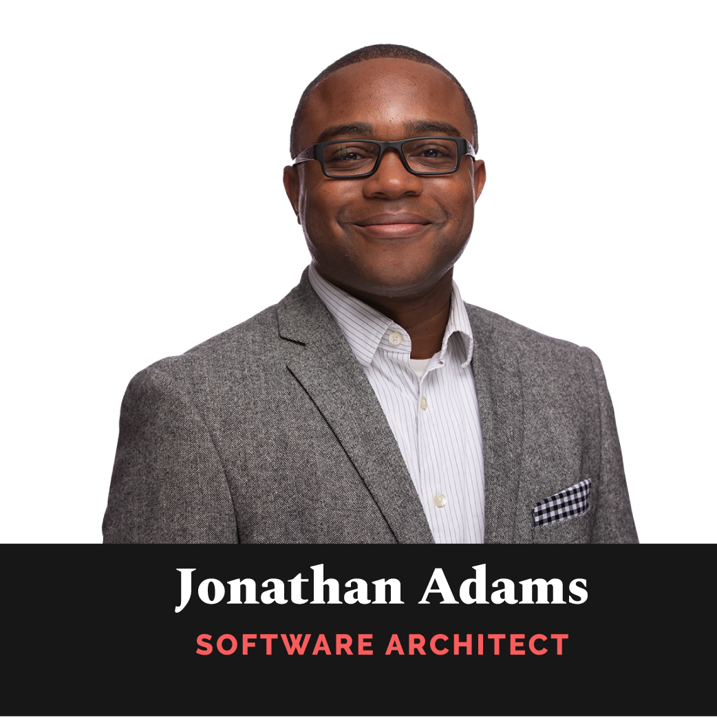 Jonathan Adams, Software Architect
